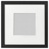 КНОППЭНГ Рама, черный, 23x23 см