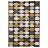 ТОРРИЛД Ковер, короткий ворс, разноцветный, 133x195 см