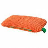 ЛУРВИГ Подушка, оранжевый, 62x100 см