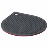 ИКЕА 365+ ГУНСТИГ Подставка под горячее, магнитн, красный, темно-серый