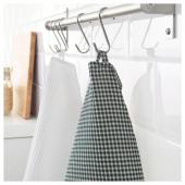 ТРОЛЛЬПИЛ Полотенце кухонное,белый,зеленый
