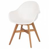 ФАНБЮН Легкое кресло, белый